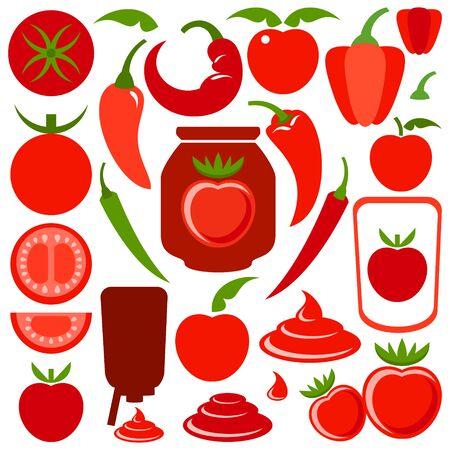 ketchup: Ketchup Illustration