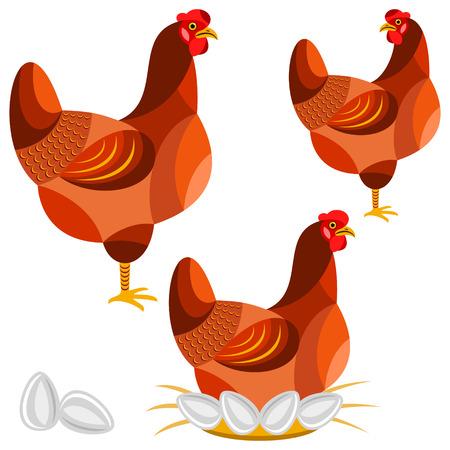 Illustration de poulet