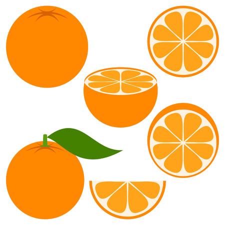 vegetarianism: orange