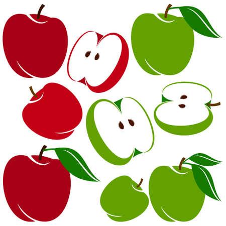 vegetarianism: apple