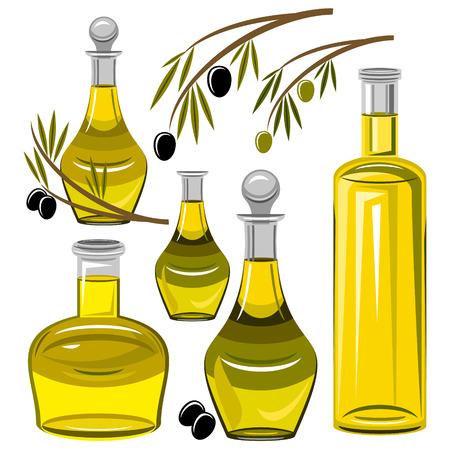 olive oil bottle: oil