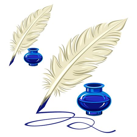 with sets of elements: feather