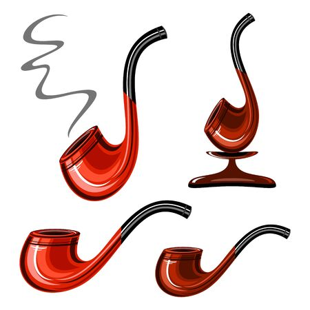 with sets of elements: smoking pipe