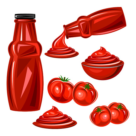 ketchup Illustration