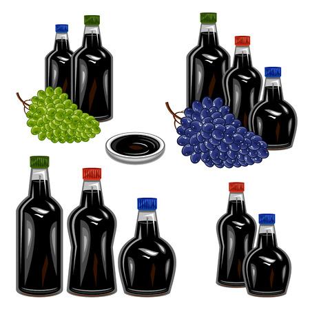 balsamic vinegar Illustration