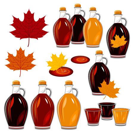 jarabe: miel de maple