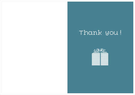 thankfulness: thank you card