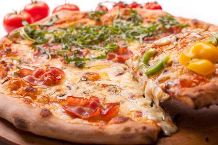 Freshly baked Pizza Banco de Imagens - 37302674
