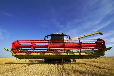 agriculture machinery: Combine harvester