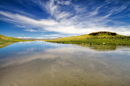 kyrgyzstan: paisaje Kirguizistán