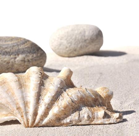 heilig water op het zand