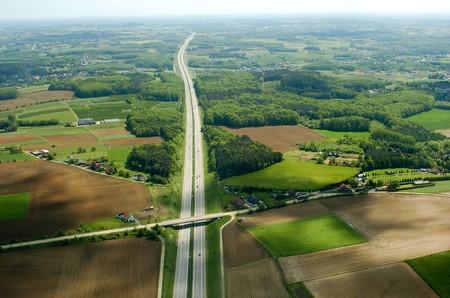 aerial highway Stock Photo - 7975913