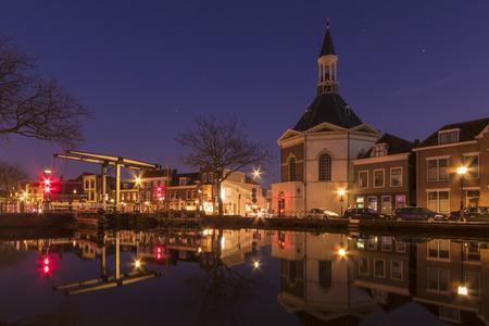 leidschendam: The historical village located Leidschendam in the Netherlands at the Rhine Schiekanaal Stock Photo