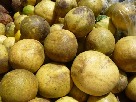 stale: Passion fruits on a stale