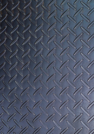 durable: Aluminium dark list with rhombus shapes