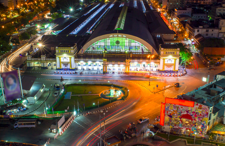 Bangkok Railway Station unofficially known as Hua Lamphong Station in Thailand. It is the main railway station in Bangkok, Thailand.