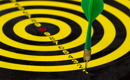 Dart is an opportunity and Dartboard is the target and goal. So both of that represent a challenge - Business concept