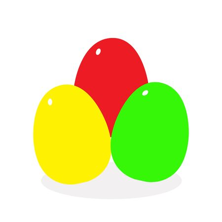 Illustration vector graphic of cute eggs