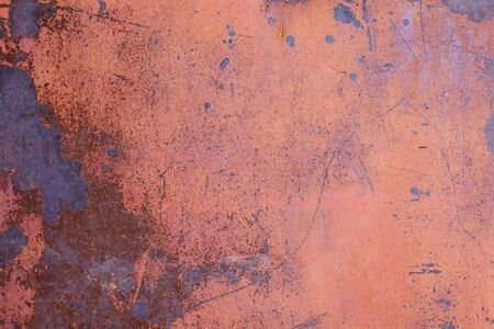 metal sheet: rusty texture, red metal sheet