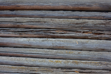 private parts: wood texture - a wall built of logs