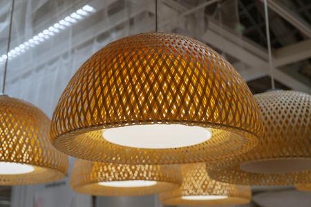 half round lampshade