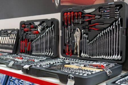 Tool kit for car repair. Repair faults on road and in workshop.