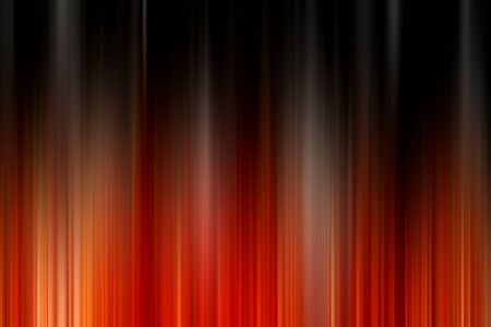 Abstract vertical orange and black lines background. Streaks are blurry in motion.