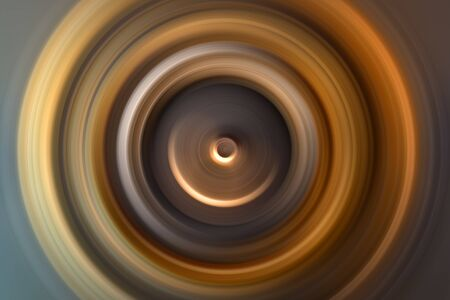 Abstract background Divergent circles from center. Exodus of circles from central point. Holy magic sparkle. Concentric circles one in another. Stock Photo