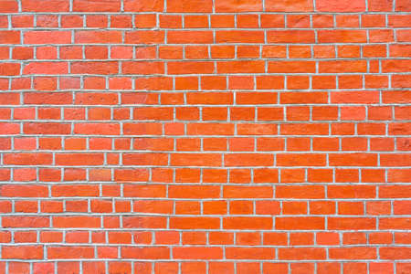 Red brick wall. Loft interior design. Architectural background.