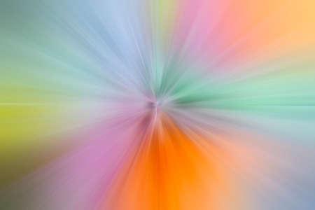 Center point perspective. A flash of bright light. Foto de archivo