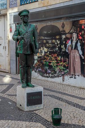 Santarém, Portugal - 11 August, 2018 - Human Statues Festival Éditoriale