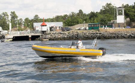 torque: Speedboat Stock Photo