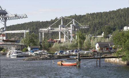 steep holm: Harbour