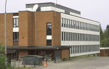 youth crime: Schoolhouse Stock Photo