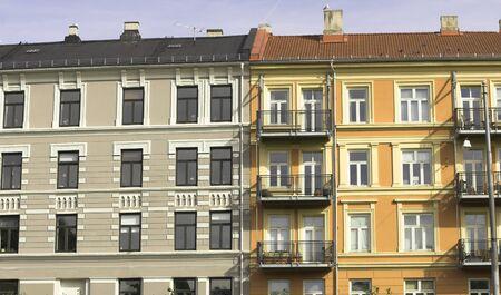 grassy knoll: Block of flats
