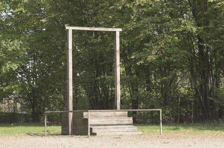 holocaust: gallows