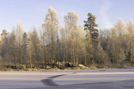 Invierno en Noruega  Foto de archivo - 2286976