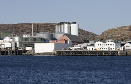 travler: Norwegian harbour.