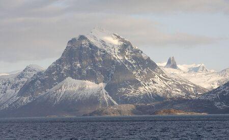 artic circle: Norwegian fjord