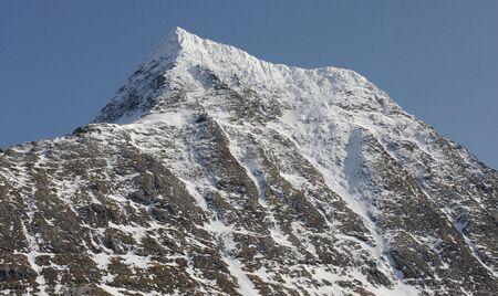 High mountain photo