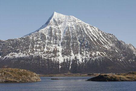 artic circle: Norwegian mountain