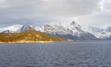 artic circle: Norwegian Mountain.