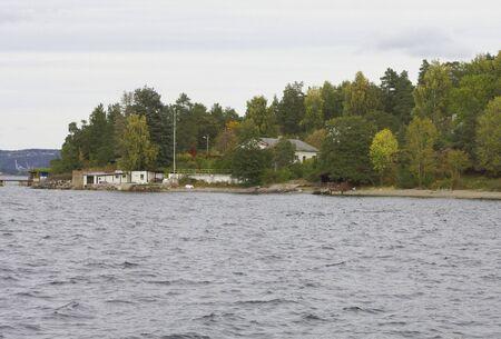 Cottage near the sea. photo