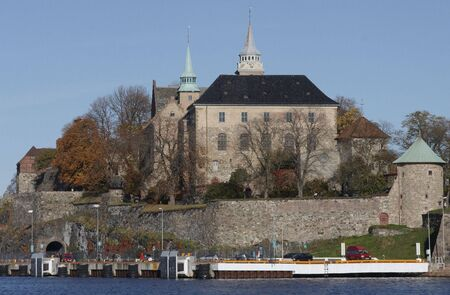 jailhouse: Akershus fortress. Stock Photo
