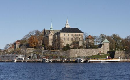 bulwark: Akershus fortress, Oslo, Norway