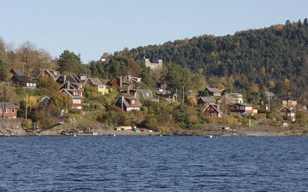 resident: Village of cabin Stock Photo