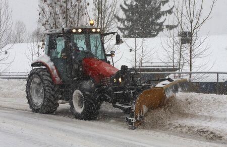 allocate: Snow plough