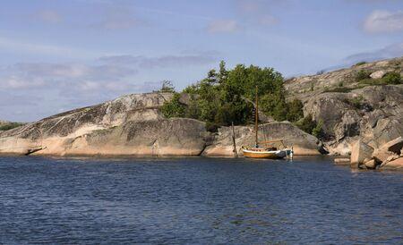 Norwegian coastline photo