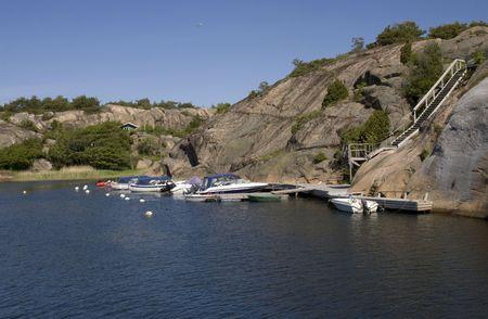 Norwegian harbour photo