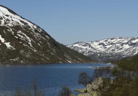 Norwegian mountain Stock Photo - 13910548
